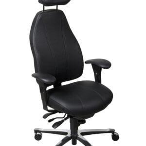 siège ergonomique de direction T 4000 Cuir - Ergoconfort 97400