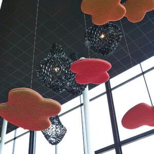 Plafonds acoustiques - Ergoconfort 97400 - Ile de la Réunion