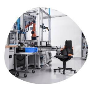 Sièges ergonomiques pour secteur industriel